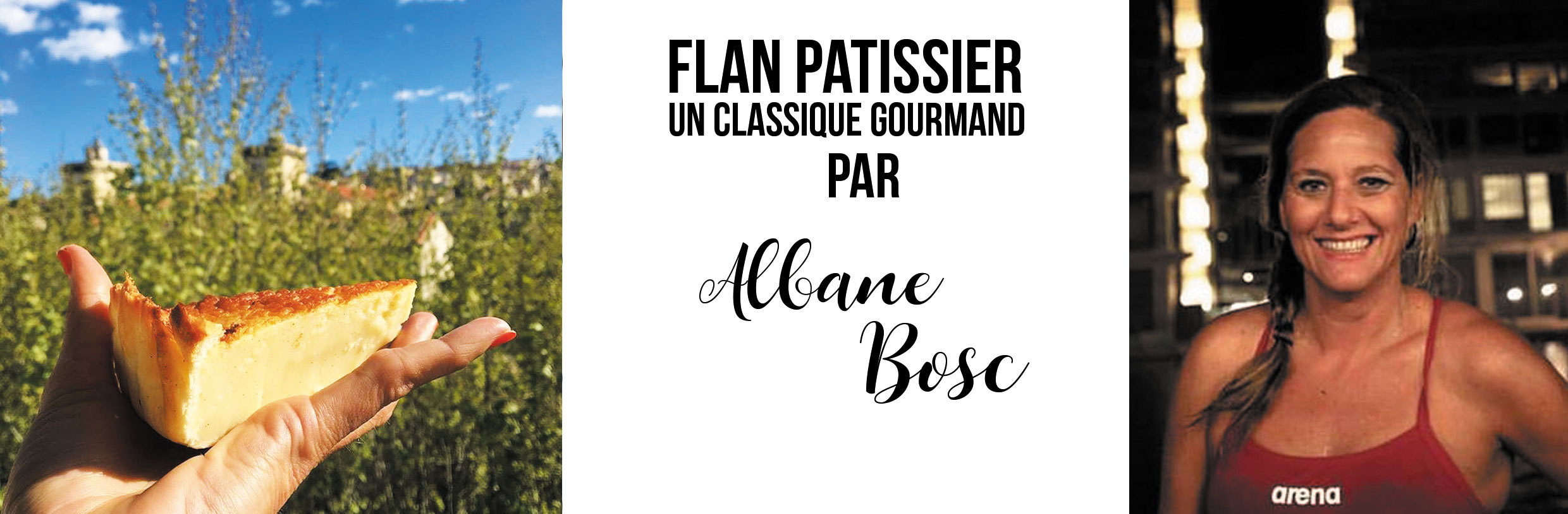 Photo Albane par Alex Voyer / Photo flan par Albane