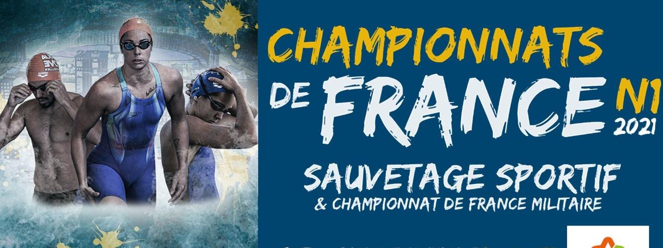 CHAMPIONNATS DE FRANCE DE SAUVETAGE SPORTF N1 & MILITAIRE